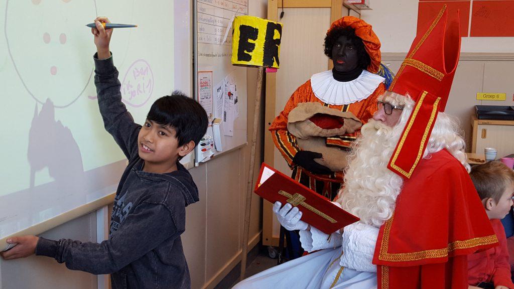 Sinterklaas op school (05-12-2016)